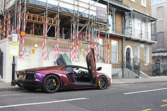 Ready To Fly. (Florian Joly Photography) Tags: money hot streets sexy london cars girl wow photography amazing purple violet arab lp florian 700 lamborghini supercars v12 lambo 2016 joly aventador lp700