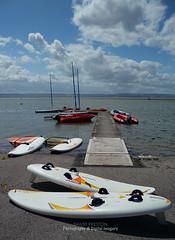 THE MARINE LAKE (David~Preston) Tags: uk england boats jetty marinelake westkirby merseyside thewirral windsurfboards