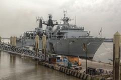 0157 (ElitePhotobox2) Tags: liverpool ship navy hdr luminance hms bulwark l15