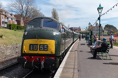D832 Swanage Diesel Gala 6-5-2016 (Darren Harris) Tags: swanage purbeck corfecastle swanagerailway