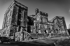 Stirling Old Town Jail - 2016-05-03 09-41-24 - DSC09741-1 (colin.mair) Tags: old bw stirling sony jail ilce6000