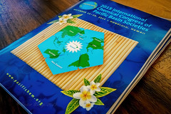 Pacifichem 2015 Conference Proceedings (Victor Wong (sfe-co2)) Tags: usa beach field yellow hawaii book golden waikiki bokeh indoor resort conference booklet honolulu spa depth registration marriot proceedings pacifichem