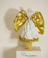 Ezra (Yureiko) Tags: sculpture art paper origami kunst skulptur papier paperfolding   papierfalten yureiko