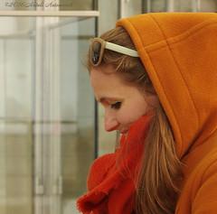 Portrait (Natali Antonovich) Tags: portrait smile sunglasses glasses seaside mood belgium belgique belgie profile oostende seashore seasideresort belgiancoast seaboard