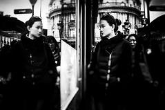 People in the street (KATANGA67) Tags: street people urban bw paris contrast photography photo blackwhite fuji photographie noiretblanc photos streetphotography nb parisienne x100 parisiens stphotographia fujifilmx100 fujix100