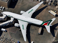 AItalia Boeing 777-243/ER I-DISU (Mark Harris photography) Tags: california plane airplane la aircraft aviation lax spotting
