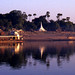 Irrawaddy river morning, Burma, December 1987