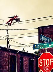 Cherub. Georgetown. Seattle. (PickledMonkeyStudio) Tags: bricks georgetown cherub