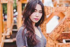 Untitled (Raev Yap) Tags: portrait woman art girl fashion female canon asian photography outdoor korean conceptual 60d