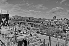 Motel One 2-2 (GhostOfDorian) Tags: hotel construction baustelle treppe aussicht freiburg schwarzwald blackforest beton neubau rohbau breisgau badenwrttemberg zblin caon motelone sigmazoom betonieren eos650d friedrichring adacturm