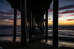California Dreaming (ATOM1_Productions) Tags: ocean california sunset beach cali pier sony socal orangecounty oc westcoast huntingtonbeach pinkclouds 714 surfcity sonya7