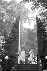 entrance to Goa Lawah temple (kuuan) Tags: ltm bw bali 35mm canon indonesia batcave traditional ceremony entrance rangefinder mf f2 manualfocus ubud 235 goalawah m39 f235mm canonltmf235mm