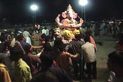 Ganesh Visarjan 2010 (Bangalore) 83 (umakant Mishra) Tags: bangalore hindureligion ganapati visarjana bangaloreevents umakantmishra soubhagyalaxmimishra ganeshvisarjana ursoorlake