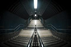 Waterloo Station (www.javierayala-photography.com) Tags: london station underground tunnel fisheye waterloo londres waterloostation