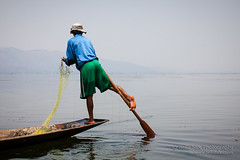 Inle_0558_web (bellaonline) Tags: world travel vacation lake holiday fish man color colour men net tourism water asian boat fishing fisherman travels holidays colorful asia fishermen burma buddhist traditional leg transport scenic culture documentary tranquility buddhism bluesky scene row tourist calm canoe adventure transportation serenity rowing oar destination environment myanmar inlelake inle daytime colourful tradition burmese scenes stillness vacations tranquil artisan waterway locations method calmness inlay pristine stillbalance