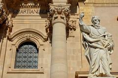 Strinopr Ortigia Sr ( Strinopr) Tags: mare chiesa duomo sicilia barocco siracusa particolare plemmirio nikonclubit