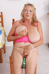 Isobel 674 (blupixuk) Tags: toy glasses big breasts boobs mature blonde heavy milf dildo hangers