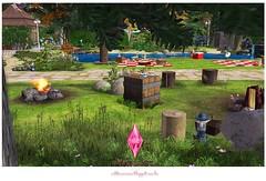 Bosque (Natt Cavalcante) Tags: flowers camping parque house cute ice garden picnic lot bosque icecream milkshake sims2 thesims ts2 lote aoarlivre