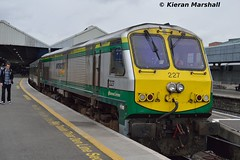 227 at Connolly, 8/5/15 (hurricanemk1c) Tags: dublin irish train gm rail railway trains railways irishrail 201 generalmotors 227 2015 emd connolly iarnród éireann iarnródéireann 0935connollybelfastcentral