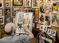 Calgary Comic Expo 2015 (Michael Mckinney (Find my Twitter @MMckinneypho) Tags: canada calgary art trek comics star dc artist comic expo drawing spiderman superman xmen alberta joker draw marvel tmnt 2015
