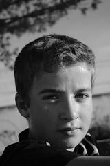 Ruben (fernando ru) Tags: boy portrait blanco monocromo child y retrato negro bn retratos chico nio bnw monocrome monocromatico