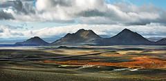 Iceland highland hw nr 1 9c (Bilderschreiber) Tags: mountains island 1 iceland highway flat berge highland nr schotter ebene hochland hringvegur