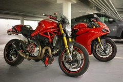 Monster and Beast (rockymotard) Tags: monster motorcycle ducati 1200s panigale 1299s