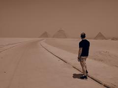 Pyramides of Giza, Cairo, Egypt!