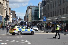 Ford Focus Estate Glasgow 2015 (seifracing) Tags: street bus cars ford station fire scotland focus force estate glasgow argyll scottish police security voiture vehicles van emergency incident polizei spotting services policia strathclyde scania polis polizia ecosse 2015 policie seifracing 2052015