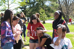 """Peace Vigil """"Raising Our Voices in Harmony"""" (Centre College) Tags: students happy religion diversity danville service studentlife 2016 topshot presbyterianchurch labyrinthwalk regionalactivities"""