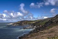 Morte Point (mrfurrylover) Tags: canon point eos north bull devon morte 7d l series f4 mkii 24105