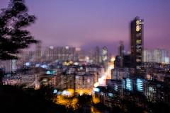 I love this fantasy feeling ` ~ (Steve Wan^_______________,^) Tags: night canon garden hongkong shot flash hill traveller f45 hong kong ii 400 100 16 usm 35 without ef f4 gitzo flsh ef100400 5ds flasj 嘉頓山