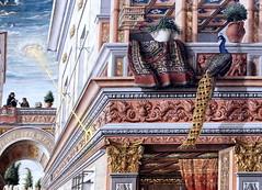 IMG_0411J Carlo Crivelli. 1430-1494. Ascoli Piceno (Marches) The Annunciation, with Saint Emidius.  L'Annonciation, avec Saint Emidius.1486.  Londres National Gallery. (jean louis mazieres) Tags: greatbritain london museum painting unitedkingdom muse nationalgallery londres museo peintures peintres carlocrivelli grandebretagne