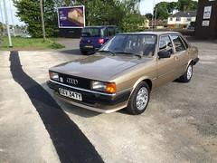 Audi 80 B2 - MOT pass! (VAGDave) Tags: 1982 b2 audi 80