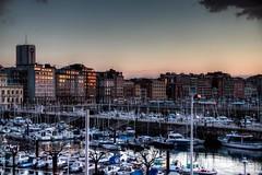 En Mi Mirada (In My Look) (Dibus y Deabus) Tags: city sunset espaa canon atardecer spain barcos gijn ships ciudad asturias 7d gijon hdr puertodeportivo sportport