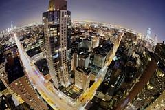 Fisheye Midtown (Tony Shi Photos) Tags: 纽约市 纽约 曼哈顿 뉴욕시 뉴욕 맨해튼 ニューヨーク マンハッタン นิวยอร์ก ньюйорк न्यूयॉर्क nowyjork novayork 紐約市 紐約 曼哈頓