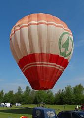 G-SPAR (G-BSJA) Cameron N-77 (SteveDHall) Tags: vintage balloons aircraft aviation balloon cameron hotairballoon preserved spar hotairballoons airfield n77 airballoons bbml pidley lakesidelodge gspar inflationday britishballoonmuseumandlibrary cameronn77 lakesidelodgepidley vintagehotairballoons gbsja