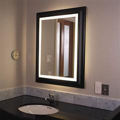 Lighted Bathroom Mirror (kientevecom) Tags: bathroom mirror lighted