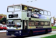 2218 (PB) GOG 218W (WMT2944) Tags: travel west midlands gog metrobus mcw mk1 2218 wmpte 218w
