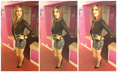 Triple Time (jessicajane9) Tags: tv cd tgirl lgbt transvestite trans crossdresser crossdressed