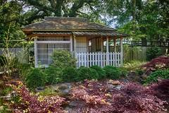 The Ceromonial Tea House (nehall) Tags: japanesegarden teahouse theaboretum wilmiingtonnc