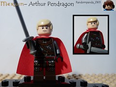 Arthur Pendragon (Random_Panda) Tags: show film television movie tv lego fig films character bbc merlin figure movies shows characters minifig minifigs figures figs minifigure minifigures