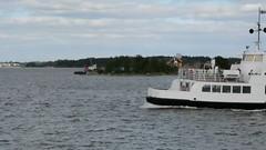 Island in Helsinki harbour (JohntheFinn) Tags: winter seascape ferry suomi finland landscape islands harbor boat helsinki harbour outdoor vehicle talvi suomenlinna maisema sveaborg saaristo lautta helsinginsatama merimaisema