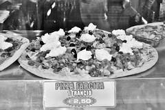 """Trancio"" (Mango*Photography) Tags: street bw food white black yummy amazing italian photographers pizza photoraphy unusual lovely abnormal giulia bergonzoni trancio farcita"