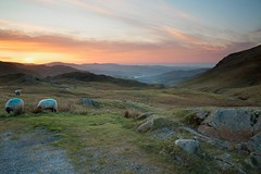 Watching Dawn From Wrynose Pass 2 (Colin Ridley 521) Tags: mist lakedistrict wrynosepass littlelangdale