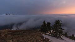 """Couleurs du soir (Isat"""") Tags: mountain alps nature montagne alpes de landscape soleil coucher neige nuage moutains"""