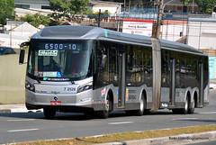 7 2528 (American Bus Pics) Tags: urban bus colors sãopaulo mercedesbenz ônibus brt omnibus uda brs articulado lowfloor o500 pisobaixo pisobajo millenniumbrt