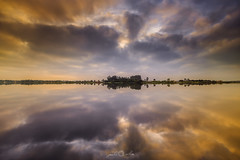 The Rhythm of Life - Ria de Aveiro (paulosilva3) Tags: portugal nature water colors sunrise canon de landscape eos lee filters ria cloudscape aveiro manfrotto waterscape lowepro