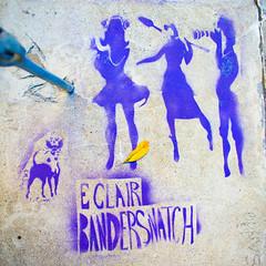 Eclair Bandersnatch (Thomas Hawk) Tags: sanfrancisco california usa graffiti unitedstates unitedstatesofamerica meta russianhill eclairbandersnatch