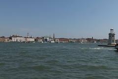 Venice (jeannetbijlsma) Tags: italien blue venice sea italy sun beauty romantic gondola adriatic gondolas beautyfull
